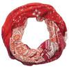 Sherpa Karuna Endless sjaal Dames oranje/wit